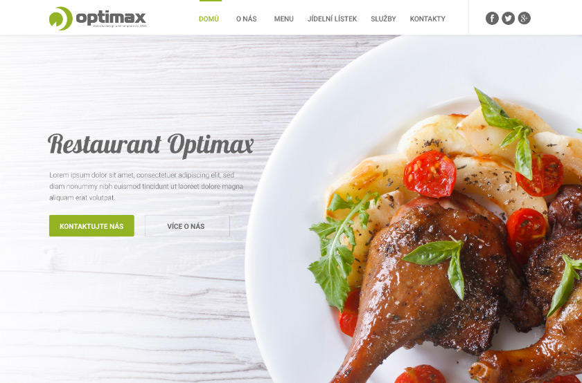 Restaurant Optimax